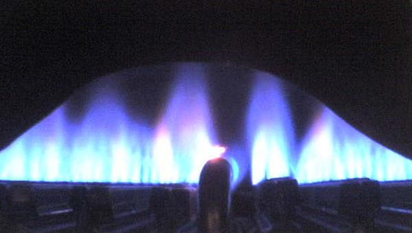 Plamen zemního plynu