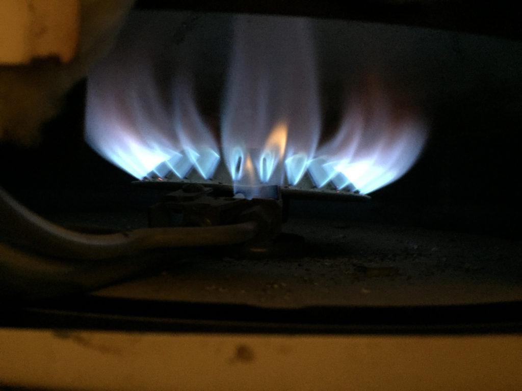 únik plynu