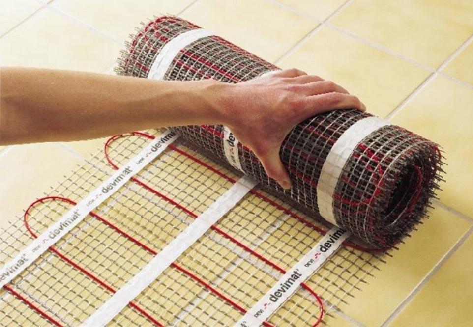 Podlahové topení a cena za m2