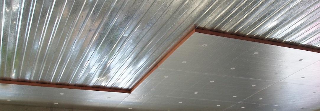 izolace stropu interiéru