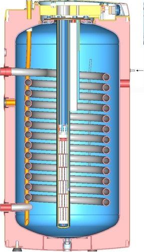 elektroinstalace ohřívače vody Dražice