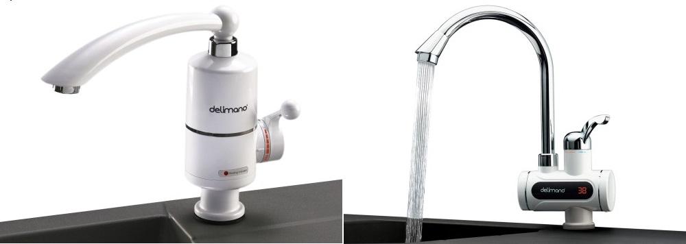 vodovodní baterie s ohřevem vody