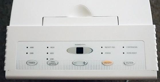 digitální display zvlhčovače vzduchu
