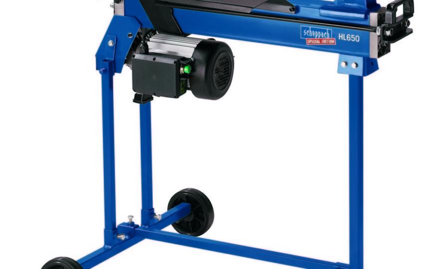 Hydraulický štípač dřeva scheppach hl 650 – recenze